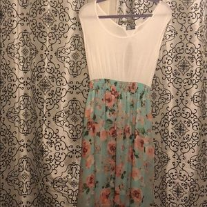 NWOT Spring high-low Dress!